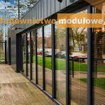 biuro sprzedaży mieszkań -pawilon handlowy
